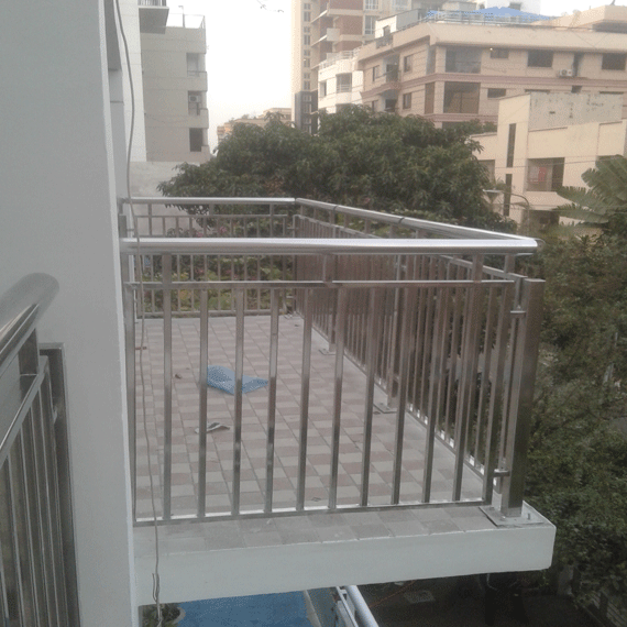 Stainless Steel SS Balcony Railing