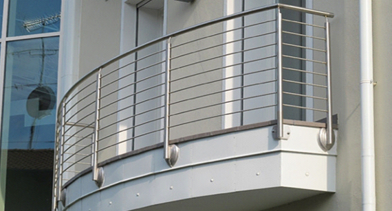 Stainless Steel SS Balcony Railing - SN Corporation